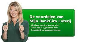 Mijn bank giro loterij