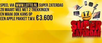 De Super Zaterdag bij Lotto