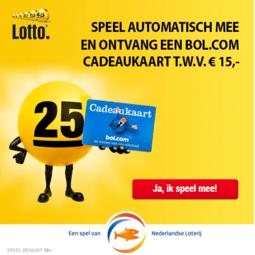Bol.com cadeaukaart lotto