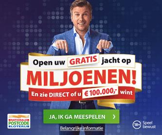 Gratis postcode loterij