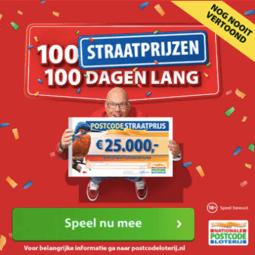 100 straatprijzen